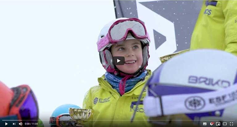 Un reve d enfant Decouverte du Saut a Ski